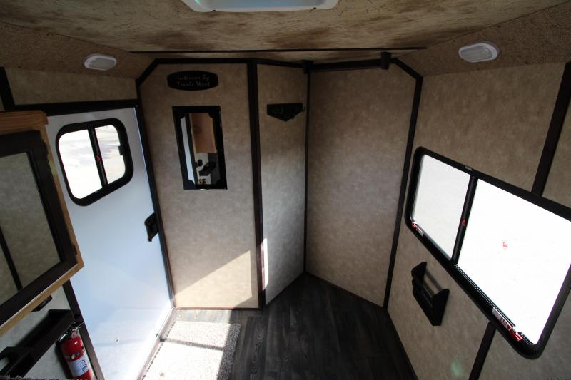 2019 Trails West Classic 3 Horse Gooseneck w/ Comfort Package Horse Trailer