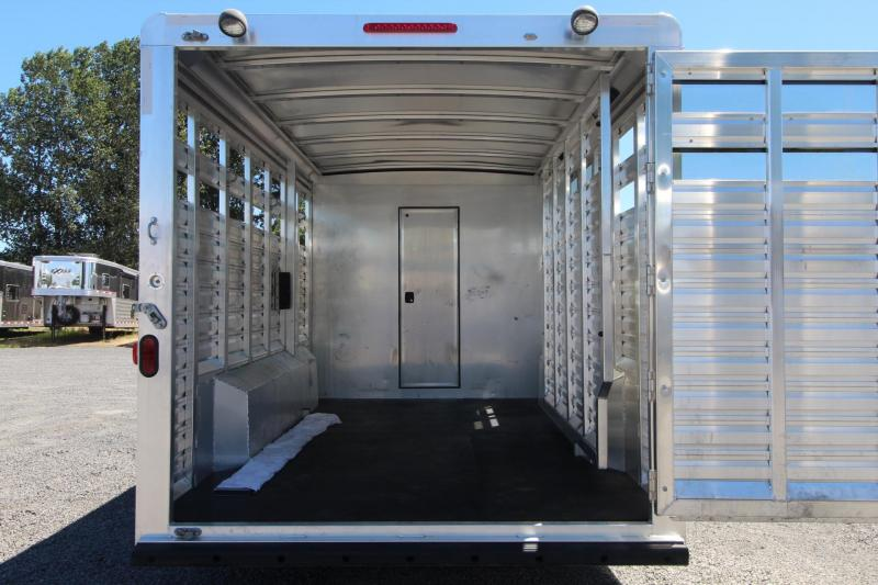 2016 Exiss Trailers STC 828 - 10ft Living Quarters stock Trailer
