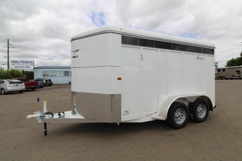 2020 Thuro-Bilt Wrangler Plus 2 Horse Trailer- Extra divider catch- swing out saddle tree- plexi-glass headwall and kickwall- rear flood light