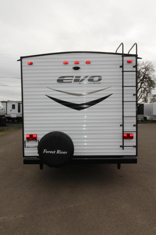 2018 Evo 2250 Travel Trailer - Full Walk on Roof - Power Awning - Triple Bunk Beds - Sleeps 7! - Arctic Package - Solar Power Prep - Silver Birch Interior Decor  - PRICE REDUCED BY $1000