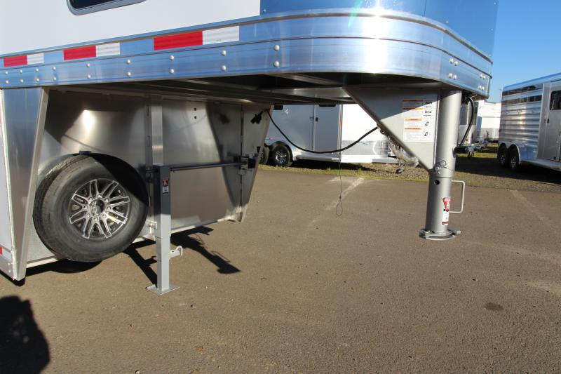 2018 Exiss 7500  - 5 Horse Trailer - All Aluminum - Stud Wall - UPGRADED Easy Care Flooring - TOTAL PRICE REDUCTION OF $1600