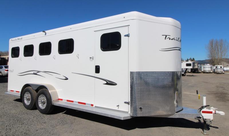 "2019 Trails West Classic Escape Door 7' 6""Tall 4 Horse Trailer"