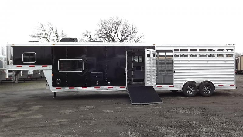 "2017 Exiss STC 8032 Stock Combo Living Quarters - 8' Wide - 7'8"" Tall - 10'6"" Short Wall - 14'6"" Stock Area"