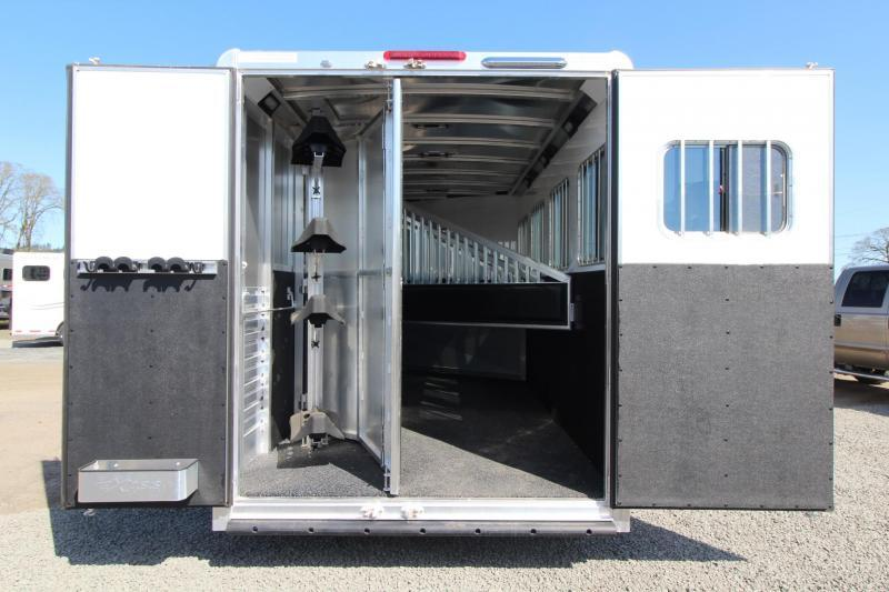 2018 Exiss Escape 7406 - 6ft Short Wall LQ - 4 Horse Trailer - Polylast Easy Care Flooring PRICE REDUCED $1500