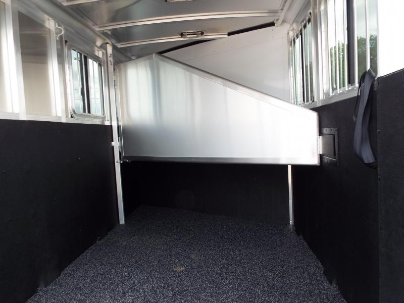 2017 Exiss Express XT 2 Horse Trailer - All Aluminum - UPGRADED EASY CARE FLOORING - PRICE REDUCED BY $1000