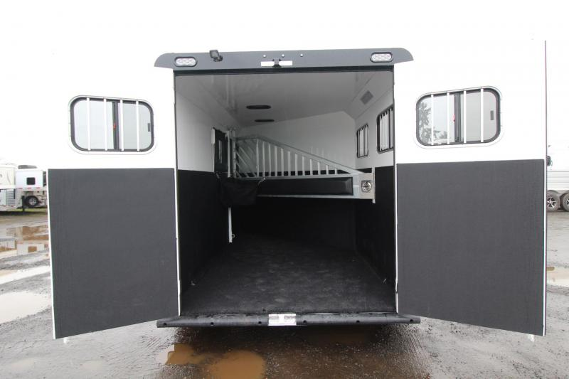 2018 Trails West Sierra Select 2 Horse Trailer - Lined and Insulated - Seamless Aluminum Vacuum Bonded Walls and Roof