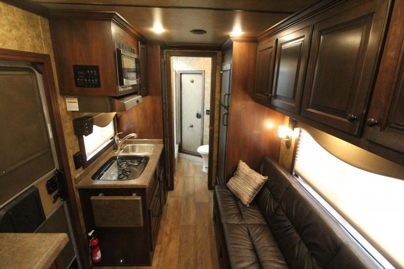 2020 Exiss Escape 7410 - 10ft sw Living Quarters 4 Horse Trailer