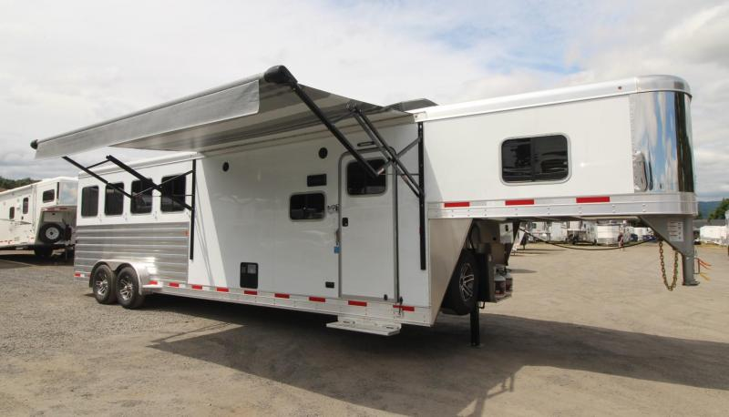 2020 Exiss Escape 7410 - 10ft sw Living Quarters 4 Horse Trailer