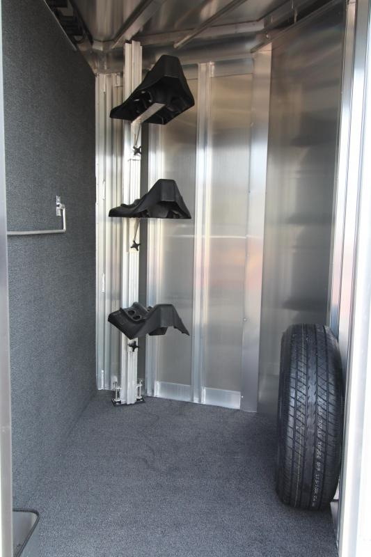 2018 Exiss Express XT 3 Horse Trailer - All Aluminium - Easy Care Flooring - Air Flow Dividers