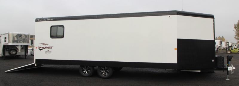 2019 Trails West 28ft RPM Burandt Edition Snowmobile Trailer