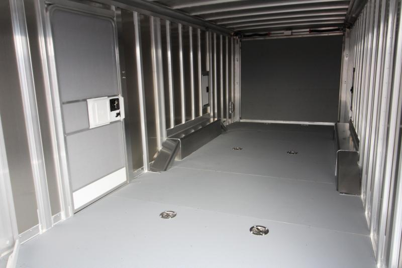 2018 Featherlite 4926 - 22' Enclosed Car Trailer- All Aluminum - Nudo Flooring - Front Nose Ramp - 2 Fuel Doors REDUCED $360