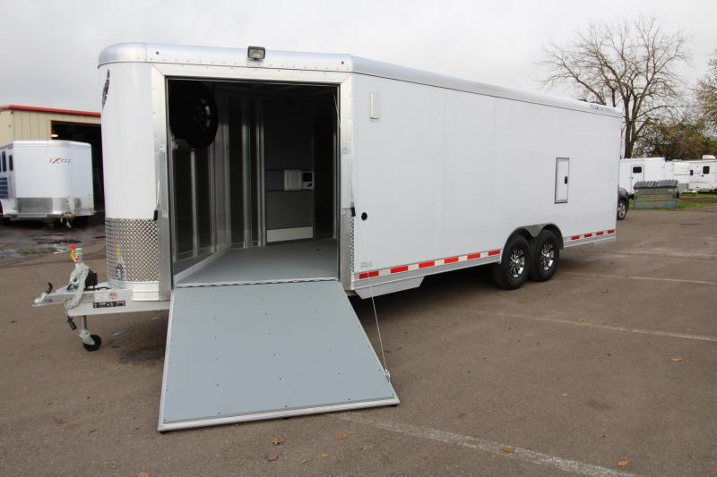 2018 Featherlite 4926 - 22u0027 Enclosed Car Trailer- All Aluminum - Nudo Flooring - : featherlite doors - pezcame.com