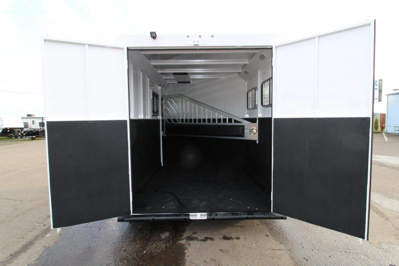 "2019 Trails West Classic 2 Horse Trailer - Extra Tall 7'6"" - w/ Convenience package"