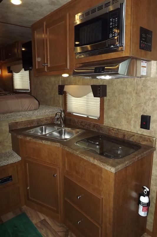 "2017 Exiss Endeavor 8310 Alum. 8' Wide 7'8"" Tall 10' SW 3 Horse Living Quarters Trailer W/ Upgraded Interior"