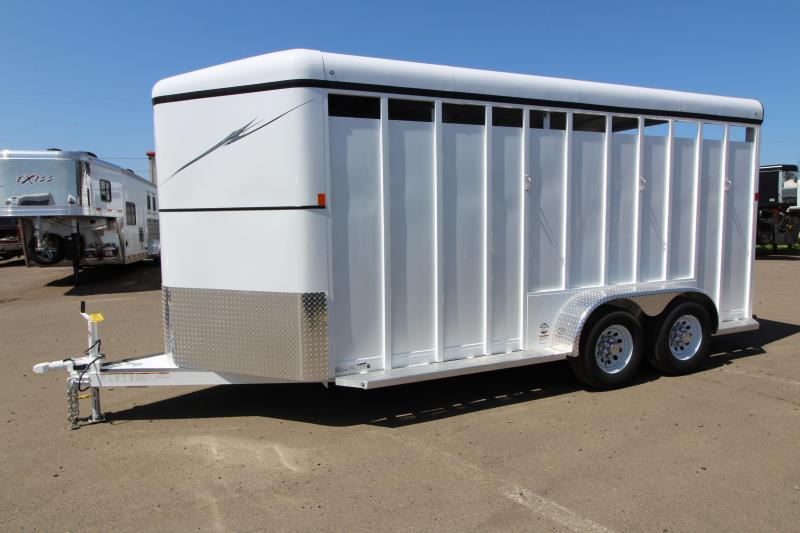 2018 Fabform Vision 18ft - Swing out Saddle rack - 3 Horse Galvanized Steel Trailer