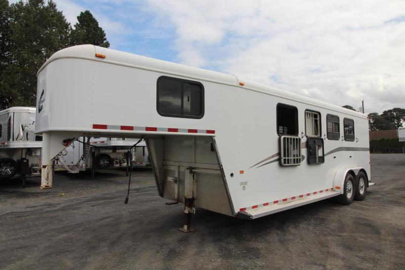 2004 Charmac 4 Horse Trailer - Large Tack Room