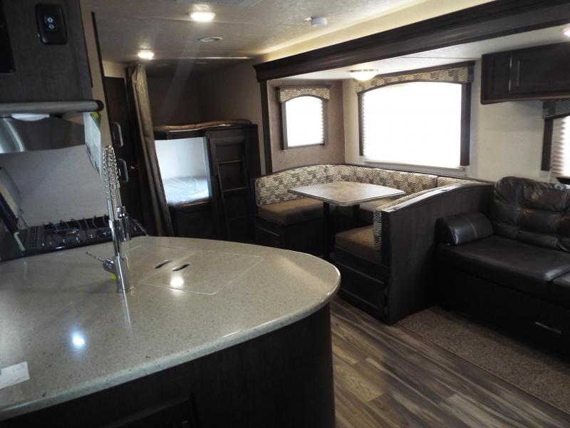 2018 Evo Travel Trailer 2850 w/ Bunk Beds - Slide Out - Arctic Package - Solar Prep - PRICE REDUCED BY $1000