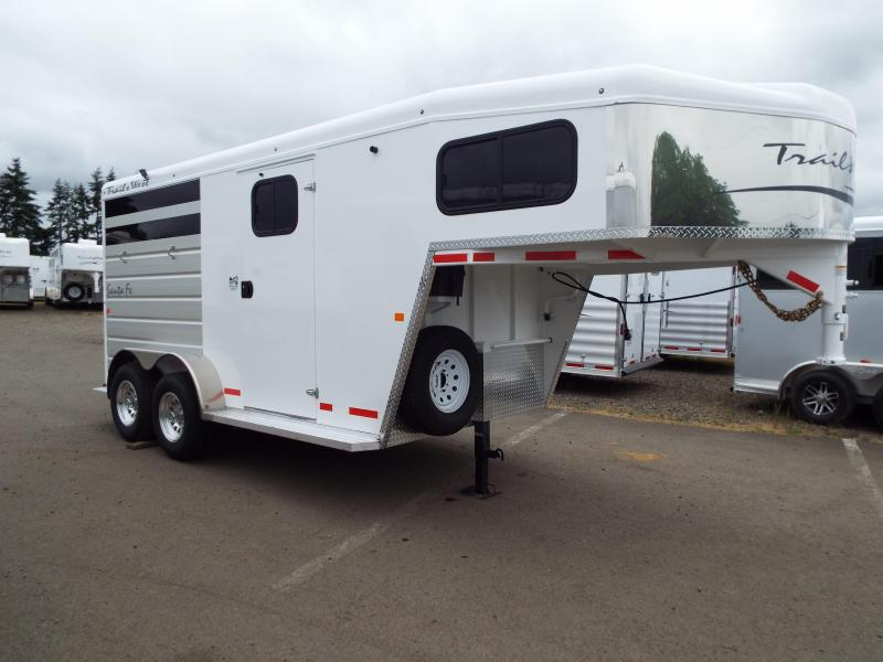 2 Horse Trailers | Horse Trailers For Sale | Double J Trailers in ...