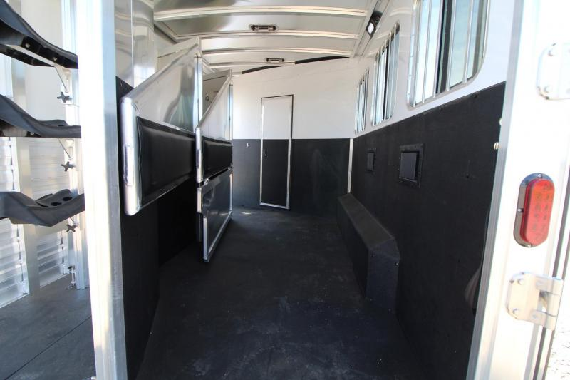 2017 Exiss Endeavor 8314 G B - Stud Panel - Gen Ready - 3 Horse Living Quarters Trailer PRICE REDUCED
