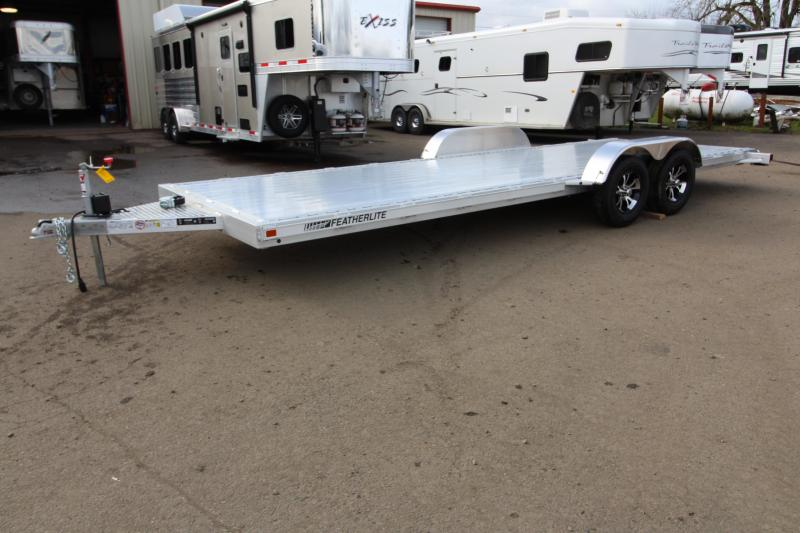 2018 Featherlite 3182 - 22 ft - All Aluminum - Car / Racing Trailer - With Ramps