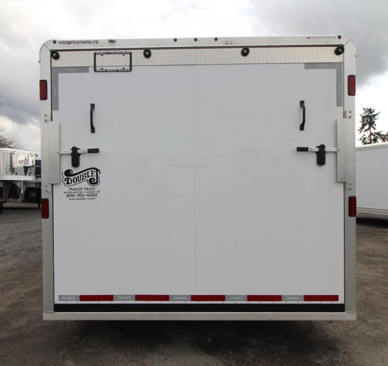 2019 Featherlite 4926 - 26FT Aluminum Enclosed Car Trailer