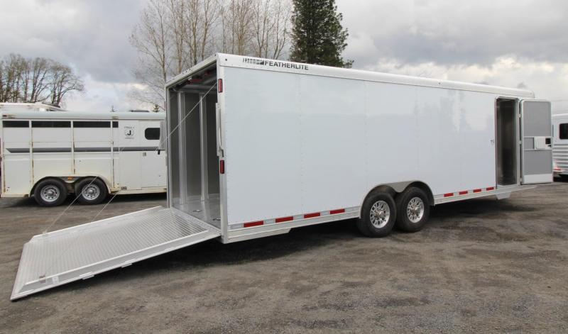 2019 Featherlite 4926 - 26FT Aluminum Enclosed Car Trailer PRICE REDUCED $1000