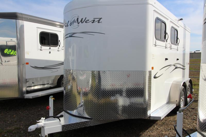 2019 Trails West 2 Horse Classic Trailer -