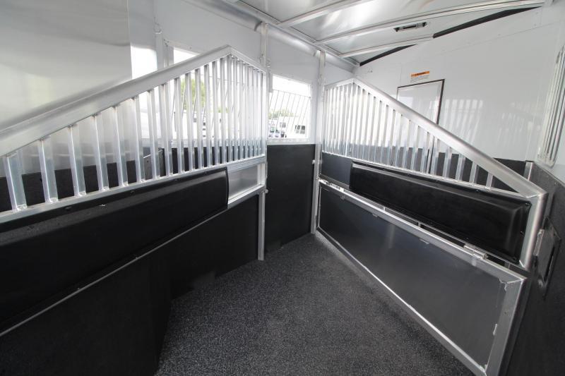 "2018 Exiss Escape 7310 - 10' 6"" Short Wall 3 Horse Trailer"