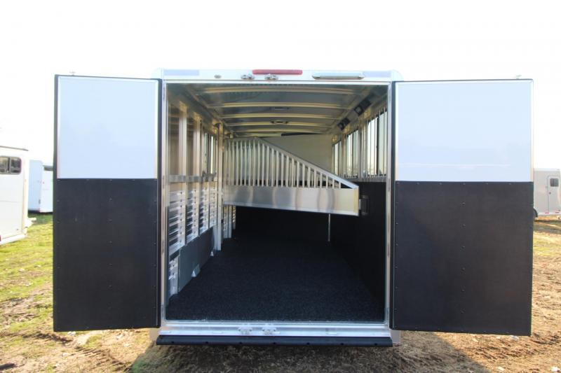 2018 Exiss Express - Polylast Flooring Upgraded Thicker Side Sheets All  Aluminum 3 Horse Trailer