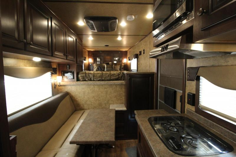 2018 Exiss 7410 10' SW LQ - 4 Horse All Aluminum -  Electric Awning - Easy Care Floor - Upgraded Airflo Dividers - PRICE REDUCED