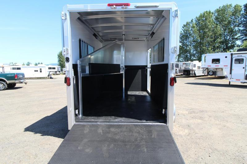 """2017 Exiss Trailers 722 Straight load REDUCED $1000 - 7'8"""" Tall-7 Wide-12'5"""" Long - Horse Trailer"""