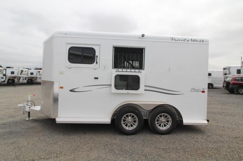"2020 Trails West Classic Warmblood 7' 6""T 2 Horse Trailer"