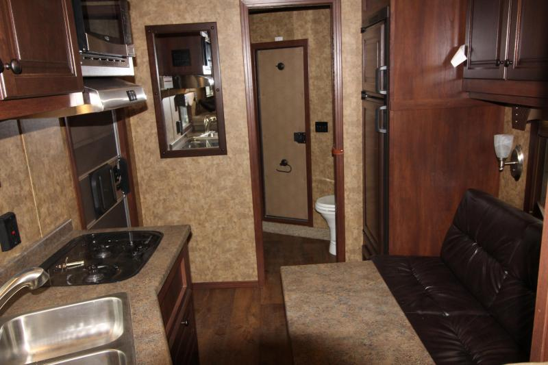 2019 Exiss Trailers Stc 8032 LQ Horse Trailer - Mid Tack - All Aluminum Preliminary Photos