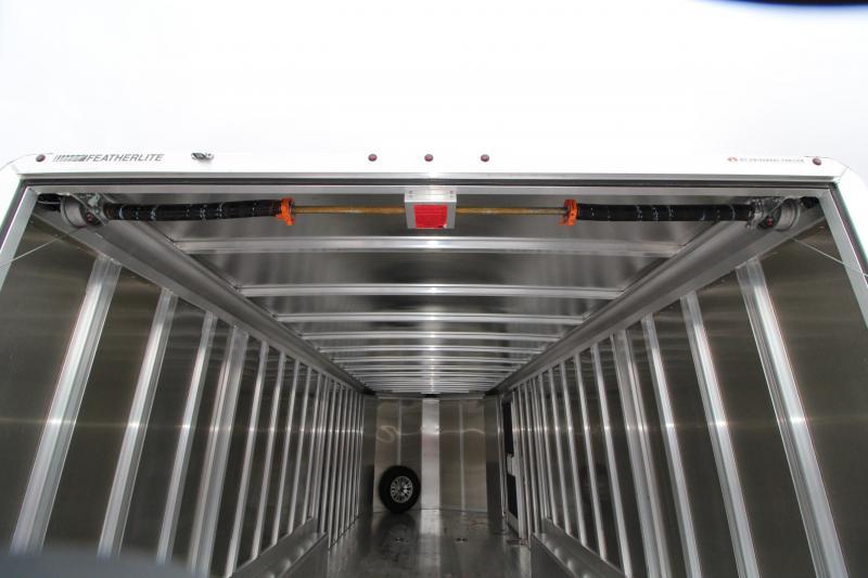 2019 Featherlite 4928 Car / Racing Trailer 24' - Cable Assist Ramp Door - All Aluminum Construction