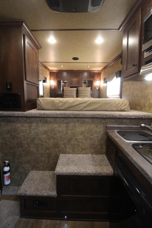 2019 Exiss Escape 7204 - 4ft S.W. Living Quarters 2 Horse Trailer - Lined & Insulated Ceiling - Easy Care Flooring