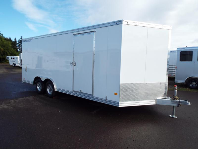"2018 Featherlite 1620 20 ft Long Car Hauler 8'6"" Wide - All Aluminum - Car / Racing Trailer REDUCED $200"
