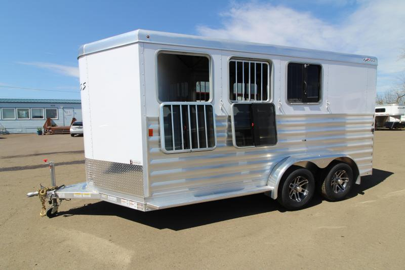 2019 Exiss  3 Horse Express XT Trailer - Easy Care Flooring - All Aluminum Construction