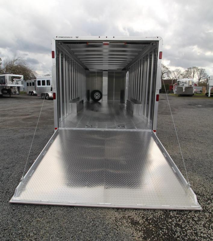 2019 Featherlite 4926 - 22ft All Aluminum Enclosed Car Trailer PRICE REDUCED $900