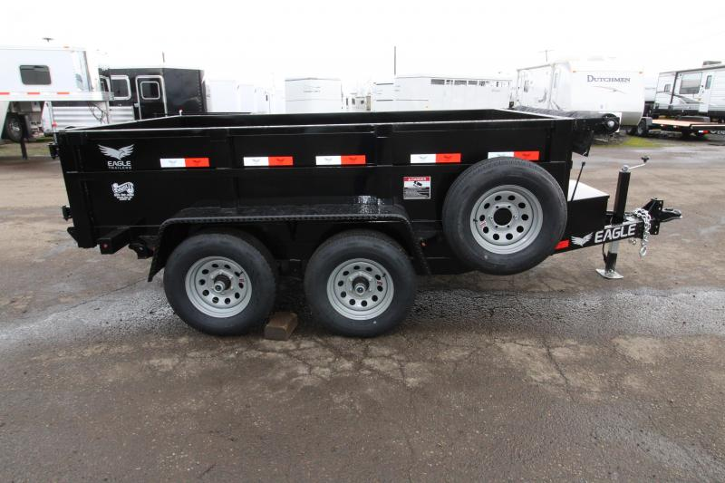 2019 Eagle Trailer 6x10 Tandem Axle Dump Trailer
