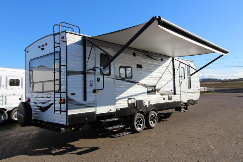"2018 Forest River EVO 2600 - 26'5"" Box Length - w/ Slide Out - Arctic Package - Reclining Chairs - Solar Prep - Silver Birch Interior Decor - PRICE REDUCED BY $1950"