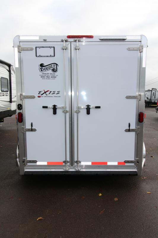 2018 Exiss Express XT 2 Horse Trailer - All Aluminum - UPGRADED EASY CARE FLOORING - Upgraded Jail Bar Divider - PRICE REDUCED BY $800