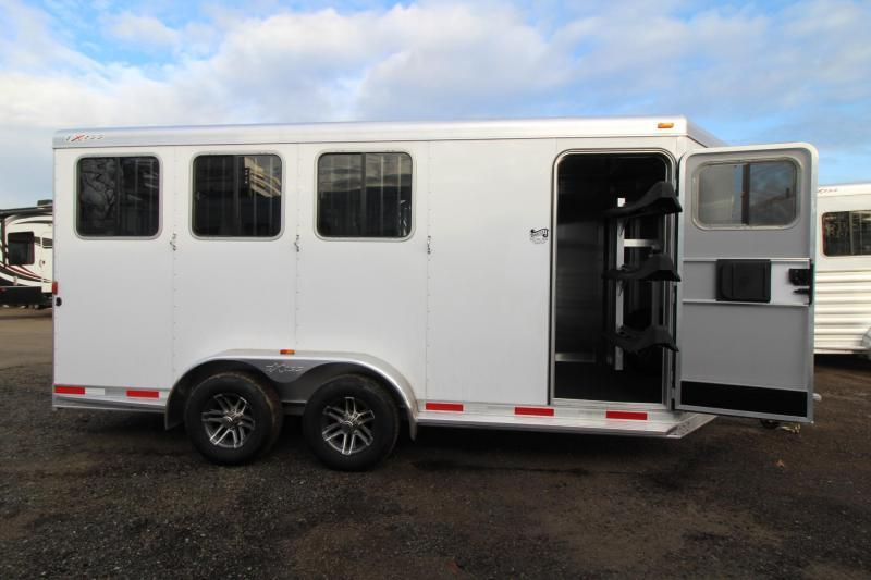 2018 Exiss 730 Horse Trailer - Swing out saddle rack - LARGE Tack Room - Polylast flooring PRICE REDUCED $1500