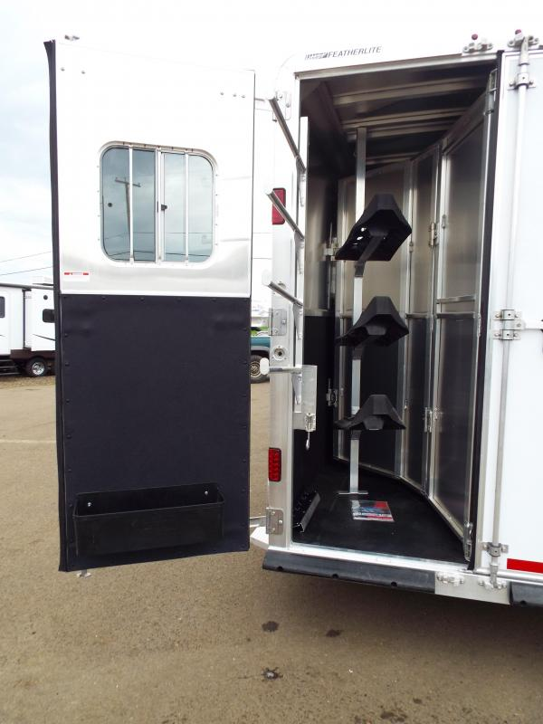 """NEW 2016 Featherlite 8533 -PRICED BELOW DEALER COST!! 3 Horse - 9.5 ft SW LQ - 7.5 ft Tall 6'7"""" Wide - All Aluminum - Beautiful Interior- REDUCED $8500"""