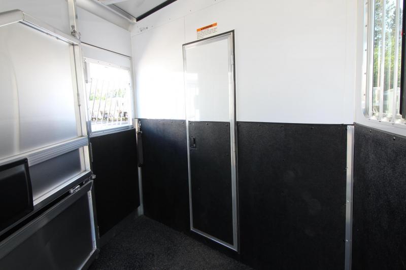 2019 Exiss Escape 7308 Living Quarters - 8' Short wall - Easy Care Flooring - All aluminum Construction