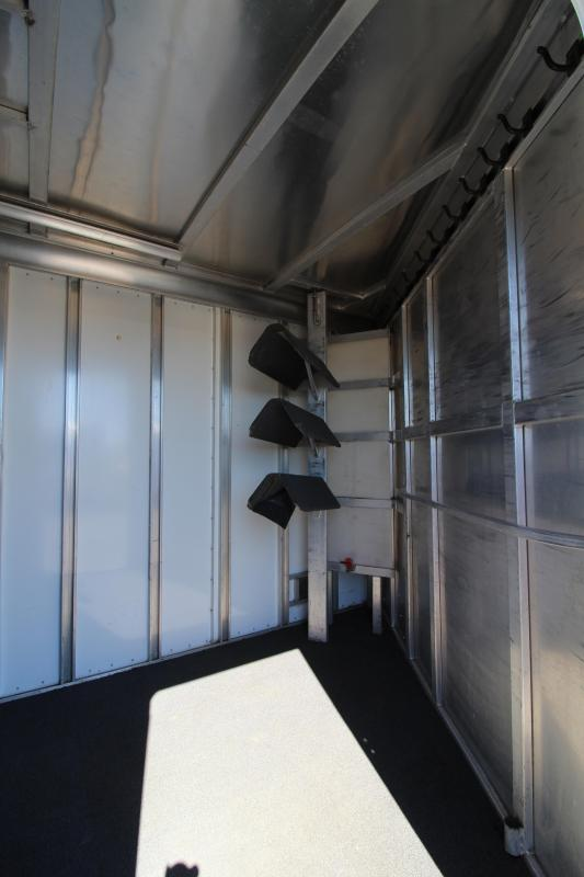 2000 Sooner 3 Horse Aluminum Trailer - New Awning - Rear Tack - In Good Condition