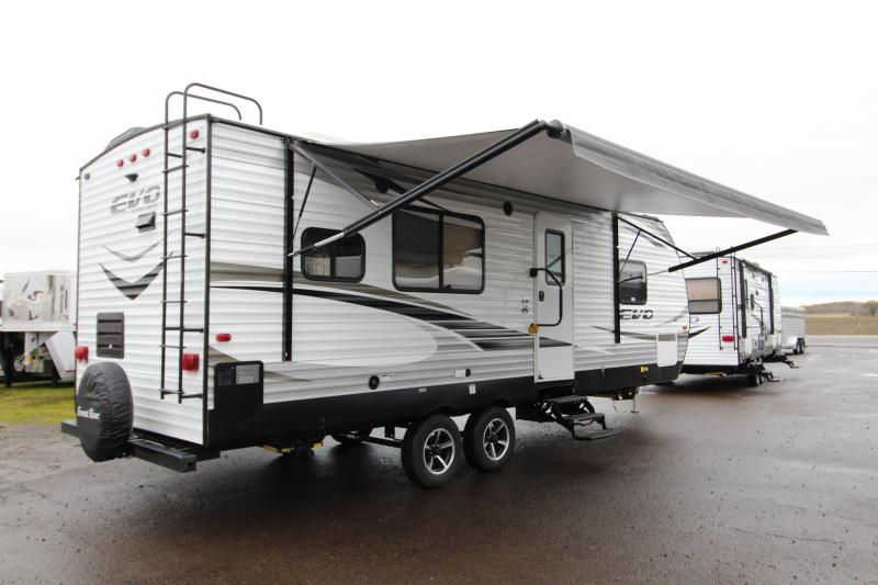 2018 Forest River EVO 2360 - Slide Out - Large Rear Kitchen - Solar Power - Arctic Package - Golden Ash Interior Color - PRICE REDUCED BY $1900