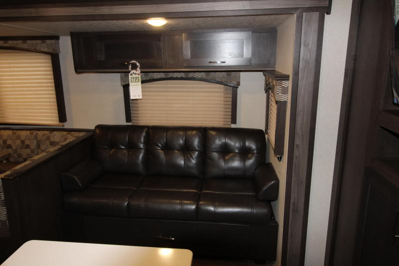2018 Evo 3250 Travel Trailer - Outside Kitchen - Arctic Package - Double Slide Outs - Stainless Steel Appliances & More! - PRICE REDUCED BY $2210