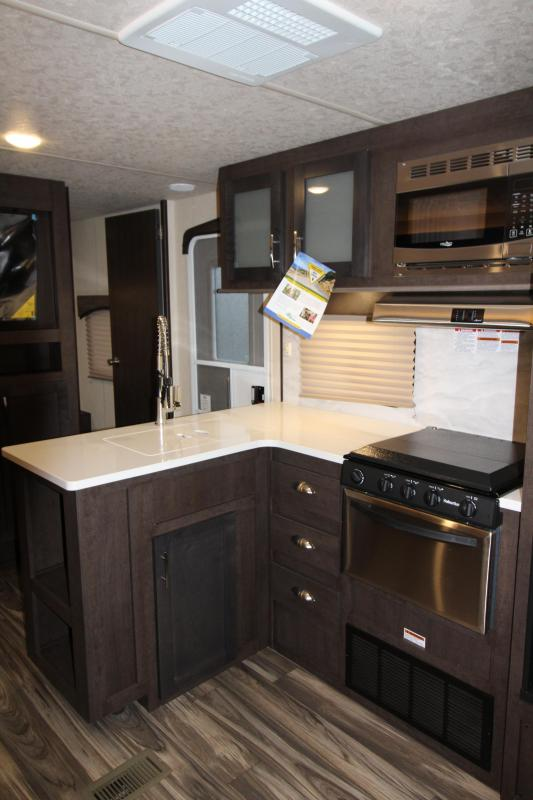 2018 Evo 3250 Travel Trailer - Outside Kitchen - Arctic Package - Double Slide Outs - Stainless Steel Appliances & More! - PRICE REDUCED BY $1710