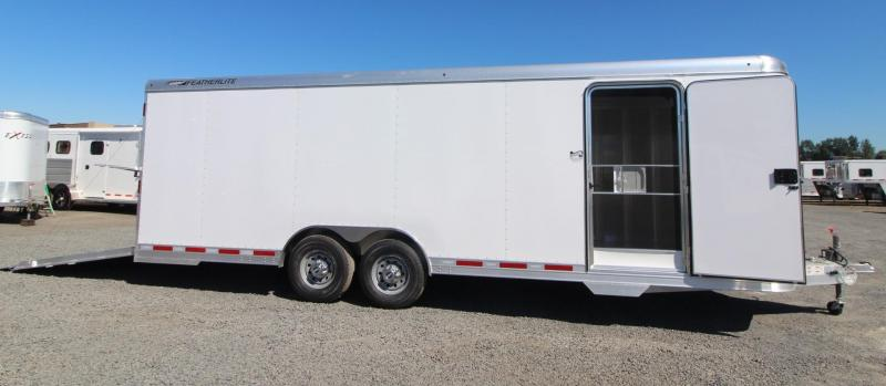 2018 Featherlite 4926 - 24' Enclosed Car Trailer - All aluminum