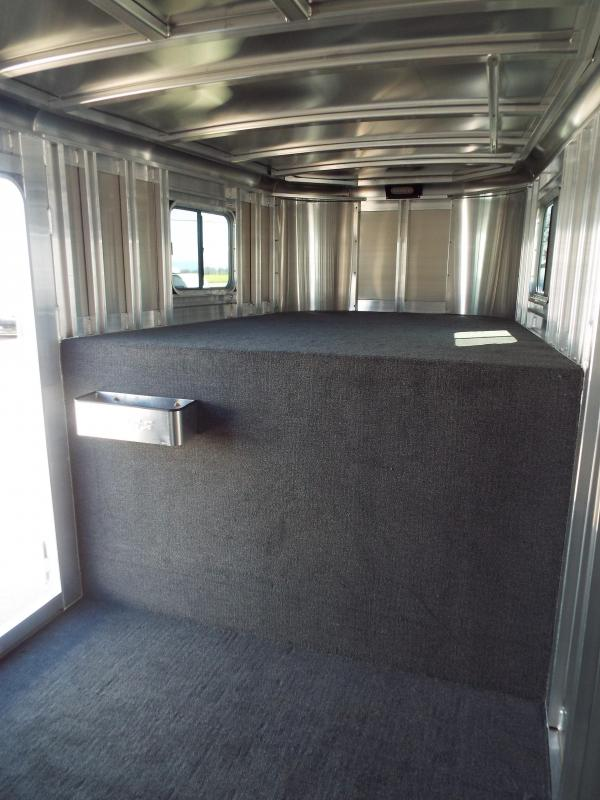 "2017 Exiss Trailers 7200 - 2 Horse Trailer 7'2"" Tall - All Aluminum  - PRICE REDUCED BY $300"